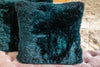 "Long Wool Pillow, Tasman 20"" x 20"" - Auskin"