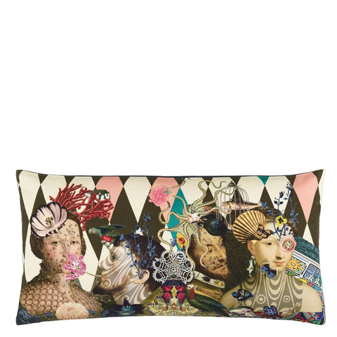Christian Lacroix Le Curieux Argile Decorative Pillow