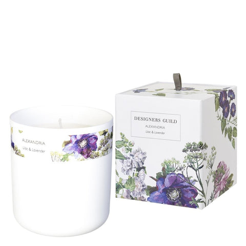Alexandria Lilac And Lavender - Designers Guild