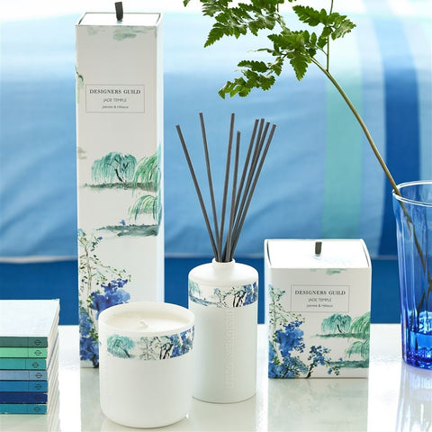 Jade Temple Jasmine And Hibiscus - Designers Guild