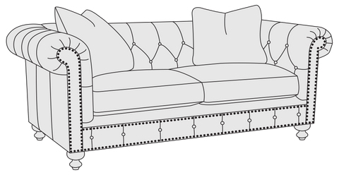 Riviera Loveseat - Bernhardt Furniture