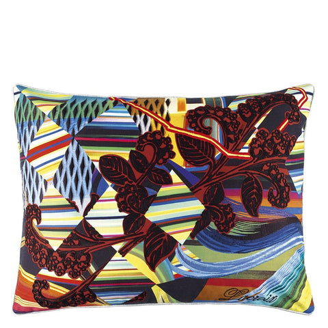 Christian Lacroix Kinetic Mystic Arlequin Decorative Pillow - Designers Guild