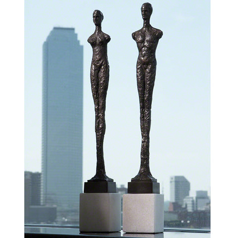 Contempo Statues, Set of Two - Global Views