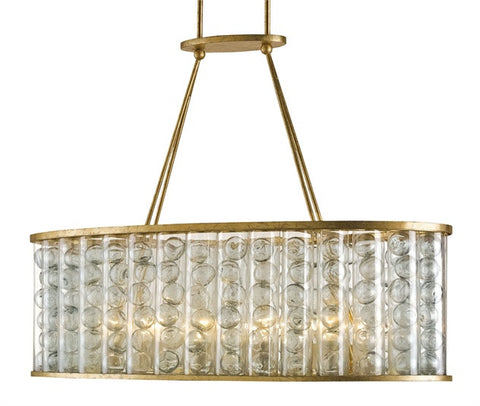 Frinton Rectangular Chandelier - Currey & Co.