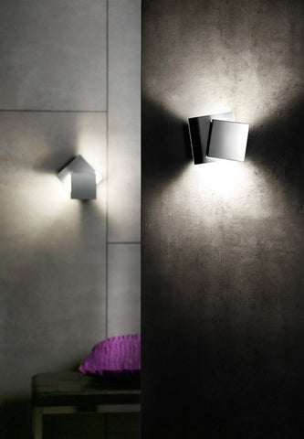 9520 LED Cubic Wall Sconce - Holtkoetter