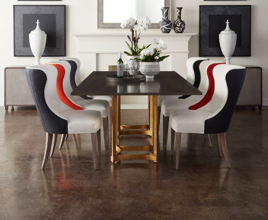 Modern Contemporary Dining Tables Luxe Home Philadelphia - Modern-wood-dining-room-table