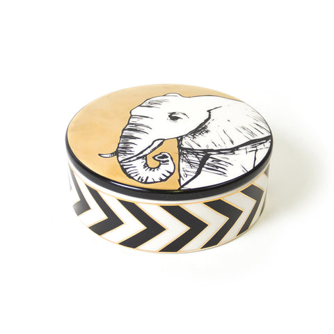Animalia Elephant Decorative Box - Jonathan Adler