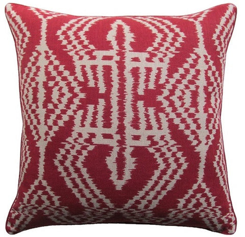 Asaka Ikat Pillow 22x22 - Ryan Studio