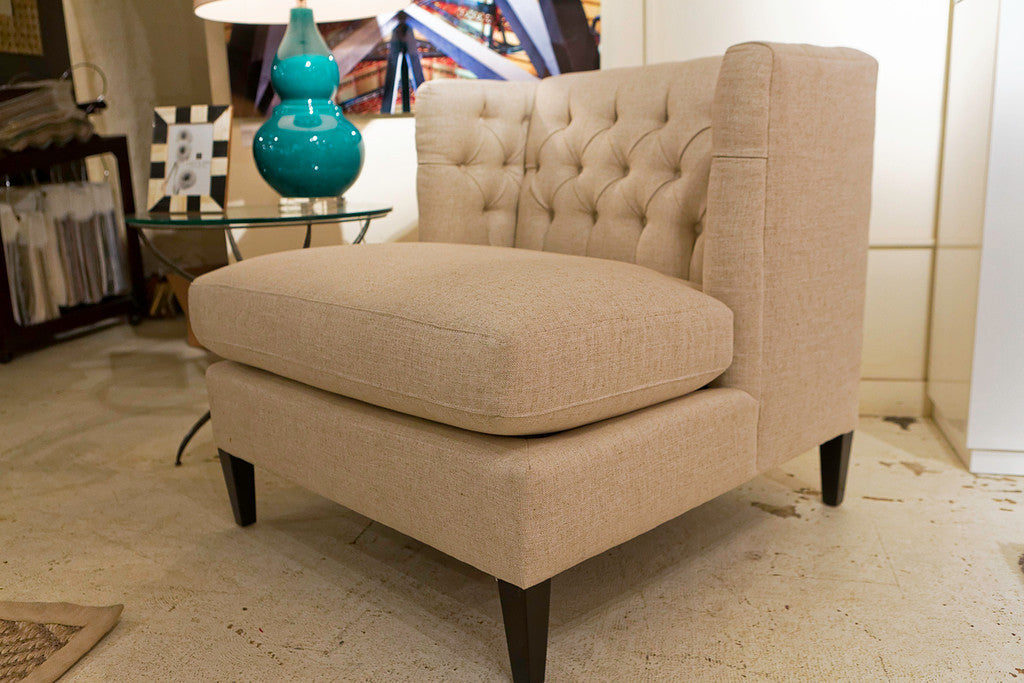 Abbey Armless Chair   Bernhardt Furniture