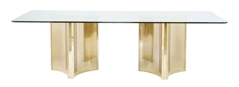 Abbot Metal Dining Table - Bernhardt Interiors