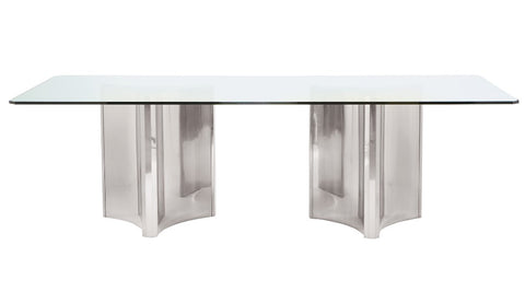 Abbott Metal Dining Table - Bernhardt Interiors