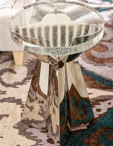 Anika Round Chairside Table - Bernhardt Interiors