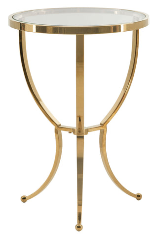 Adella Round Chairside Table - Bernhardt Interiors