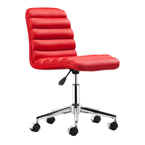 Admire Office Red Chair - Zuo Modern