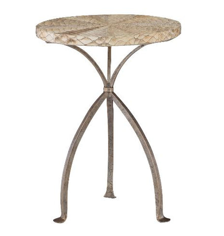 Althea Round Chairside Table - Bernhardt Interiors