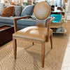 Antelope Arm Dining Chair - Luxe Home Furnishings