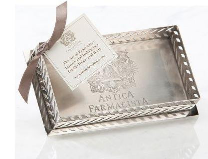 Nickel Plated Bath and Body Tray - Antica Farmacista