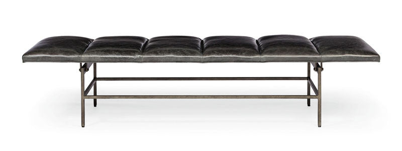 Ardmore Leather Bench Bernhardt Interiors Luxe Home