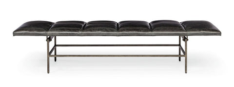 Ardmore Leather Bench - Bernhardt Interiors