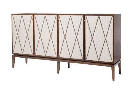 Arianna Upholstered Credenza - Belle Meade Signature