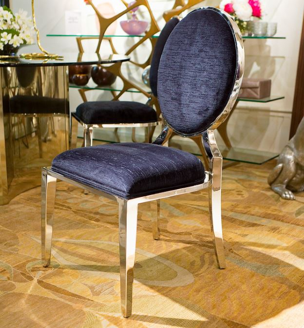 Percival Metal Side Chair   Bernhardt Interiors