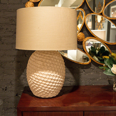 Arturo Natural Wash Porcelain Lamp - Arteriors Home