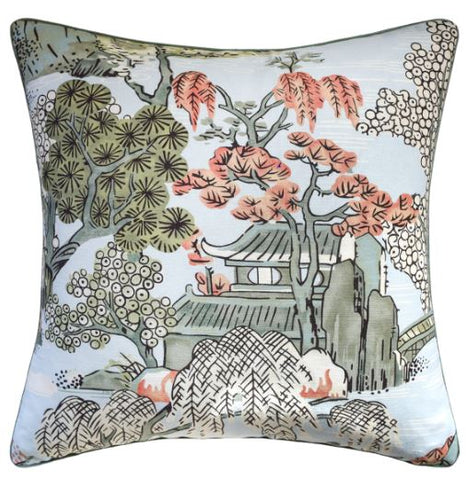 Asian Scenic Pillow - Ryan Studio
