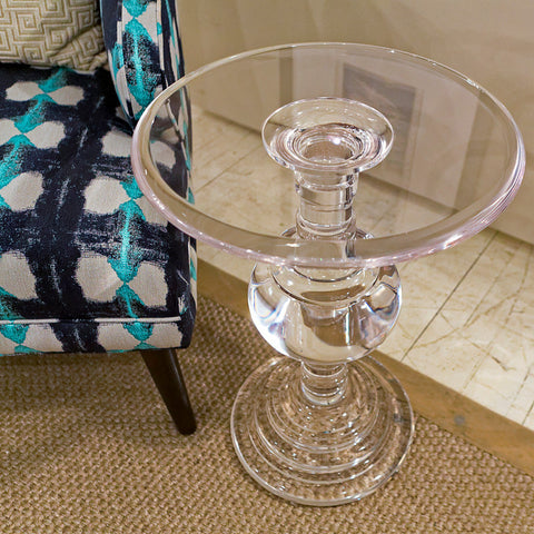 Aubrey Round Chair Side Table - Bernhardt Furniture