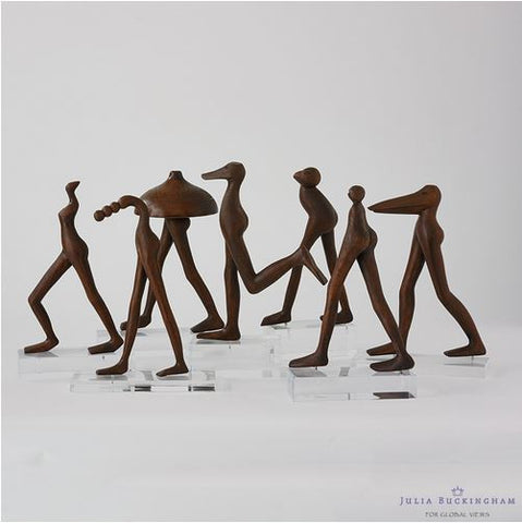 Audrey Wooden Sculpture - Global Views