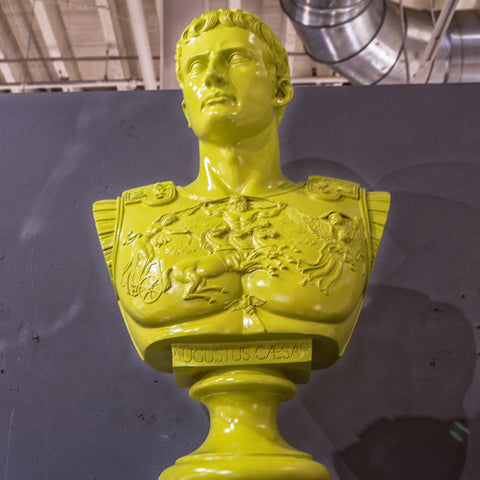 Augustus Caesar Bust, Green - Phillips Collection