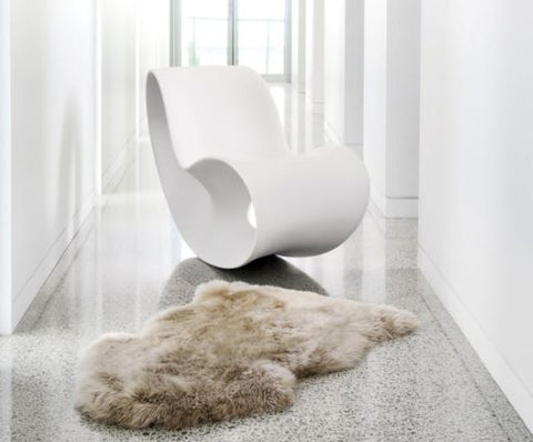 Longwool Natural Shape Rug - Auskin