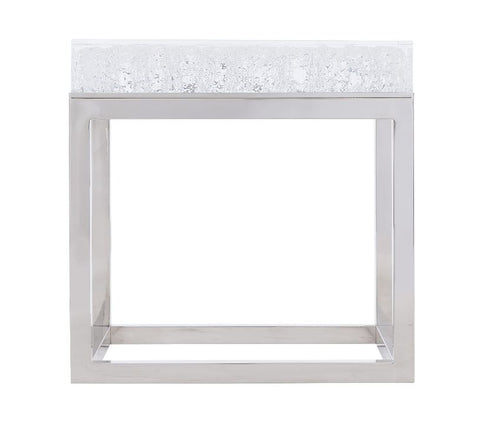 Aventura Square Acrylic End Table - Bernhardt Outdoor