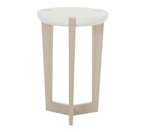 Axiom Round Chairside Table - Bernhardt Furniture