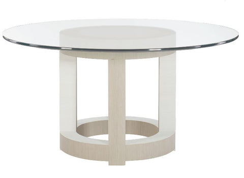 "Axiom 60"" Round Dining Table - Bernhardt Furniture"