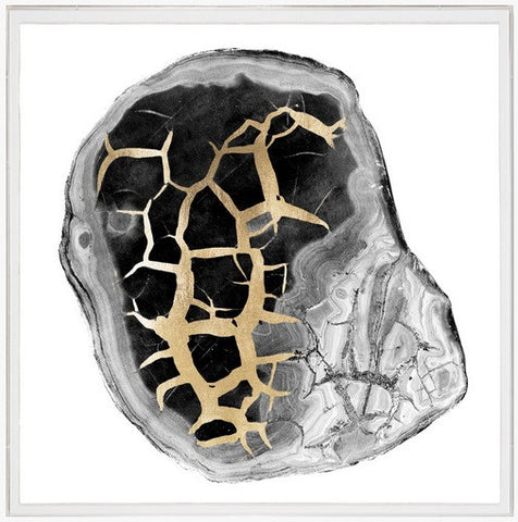 Black & White Geode 2 - Natural Curiosities