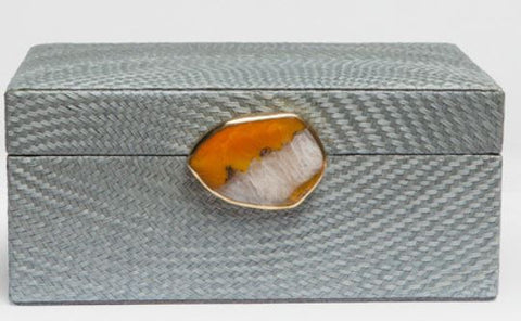 Brigid Box, Gray Buntal - Made Goods