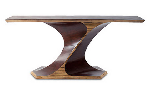 Bamboo Twist Console - Phillips Collection