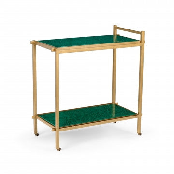 Bar Cart Malachite - Chelsea House