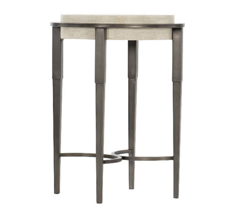 Barclay Metal Round Drink Table - Bernhardt Furniture