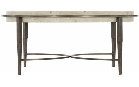 Barclay Metal Round Cocktail Table - Bernhardt Furniture
