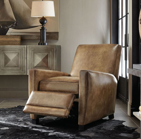 Bastille Leather Recliner - Bernhardt Furniture