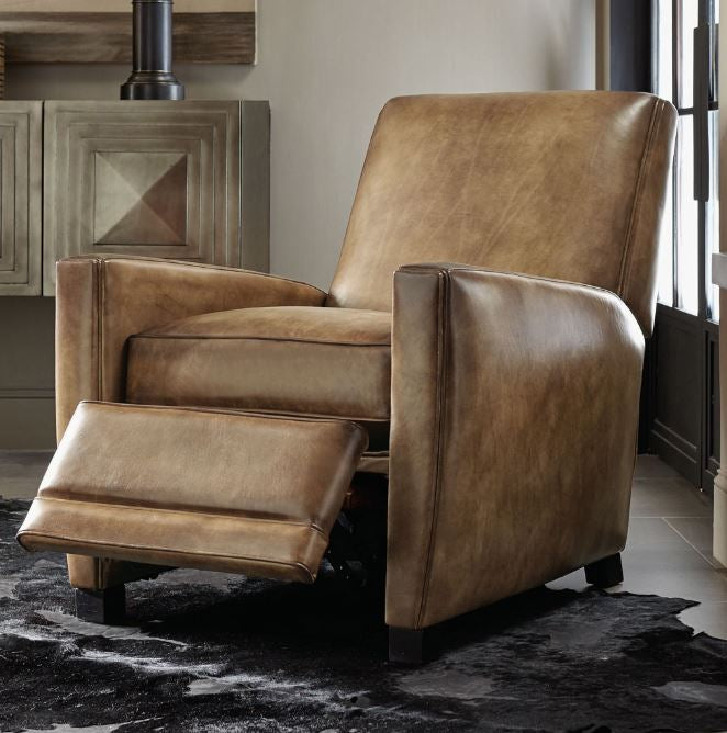 Bastille Leather Recliner Bernhardt Furniture Luxe Home Philadelphia