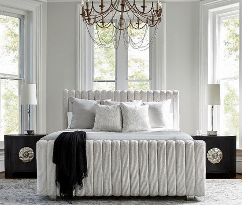 Silhouette King Panel Bed - Bernhardt Furniture