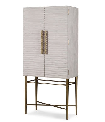 Belmont Small Tall Cabinet/Bar - Mr. Brown London