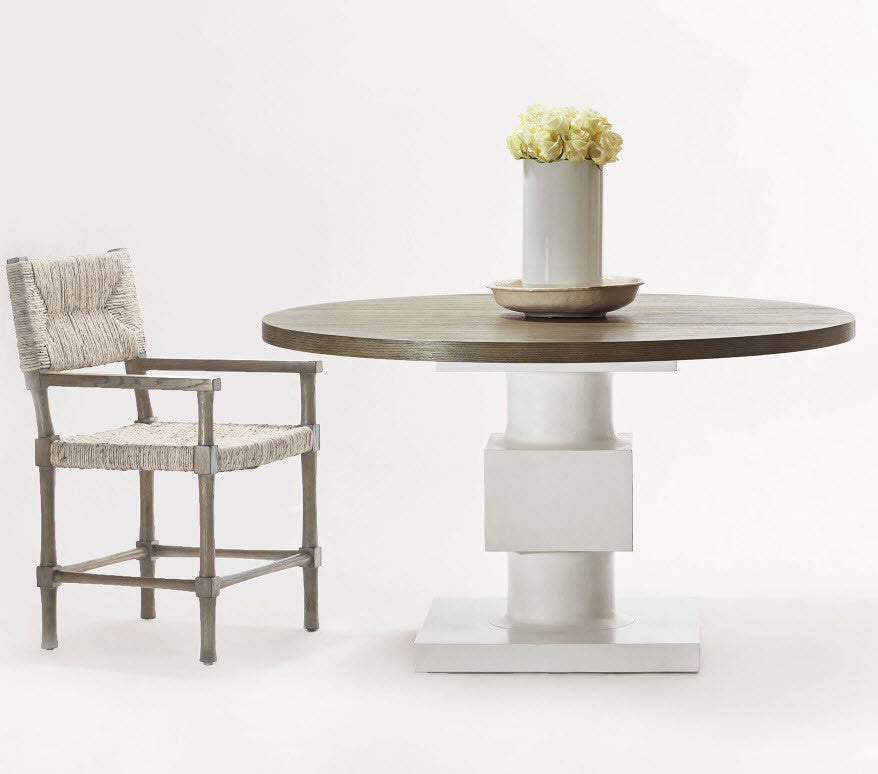Newberry Round Dining Table Bernhardt Interiors Luxe Home