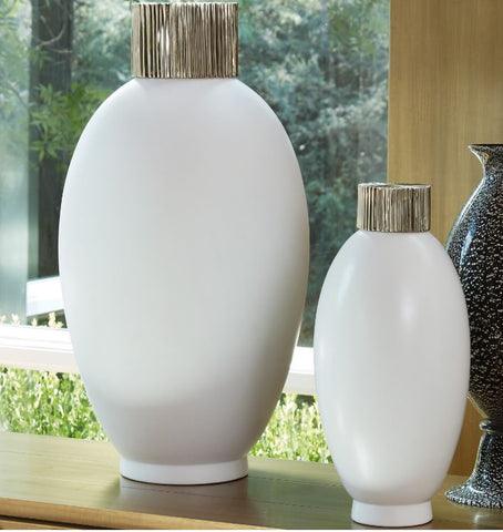 Blanc De Chine Jars - Global Views