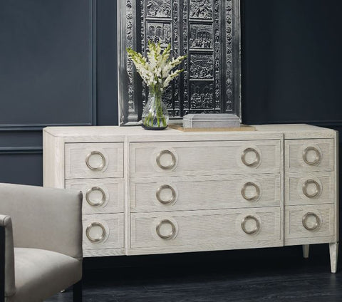 Domaine Blanc Dresser by Bernhardt Furniture at Luxe Home Philadelphia
