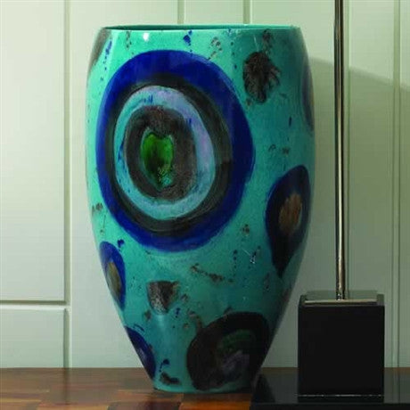 Blue Spots Vase - Global Views