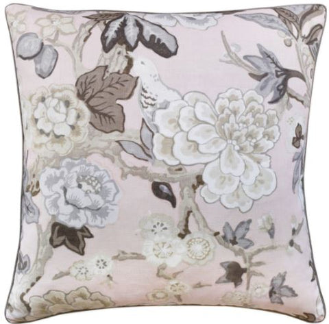 Grey Blossoms Pillow - Ryan Studio