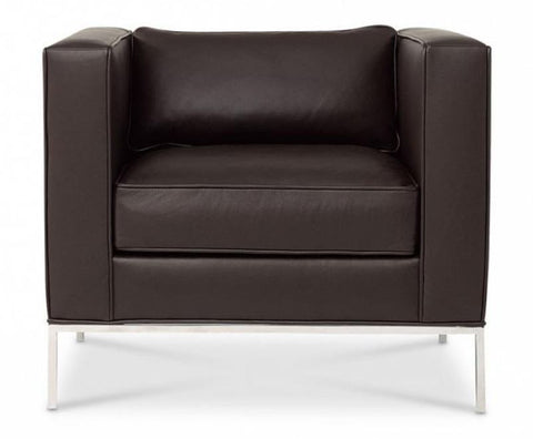 Domicile Tufted Square Lounge Chair - Bolier & Co.